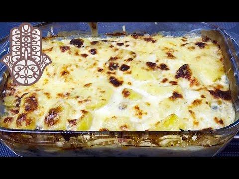 gratin-de-pommes-de-terre-à-la-viande-hachée