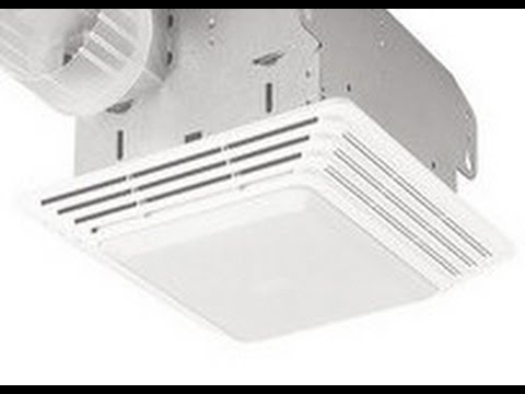 broan model: 678 bathroom light exhaust fan - youtube