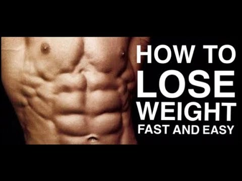 How to lose weight fast an easy! Tips to burn fat fast!