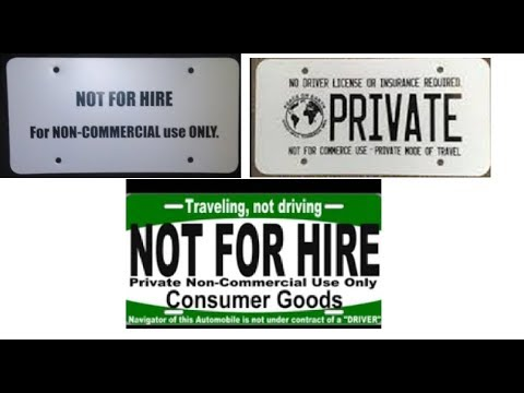 right to travel plate - YouTube