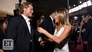 Jennifer Aniston's Emotional Acceptance Speech Leaves Brad Pitt In Awe