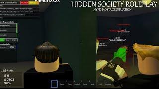 Versteckte Gesellschaft Roblox | E1 | Kleine Geiselsituation | NYPD