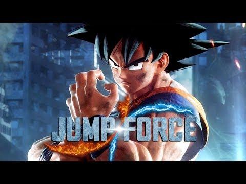 JUMP FORCE - Goku professor e Vegeta possuído