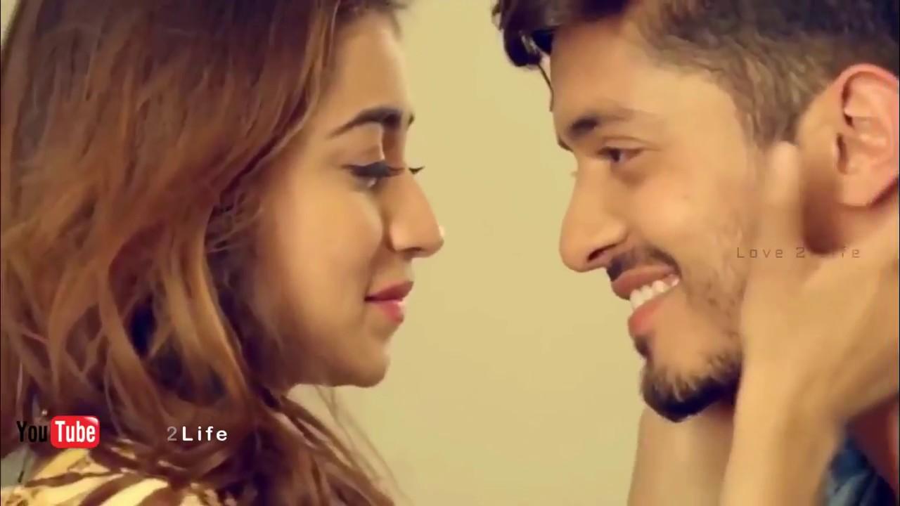 New cute romantic couple love whatsapp status tamil - YouTube
