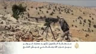 تواصل المعارك بالقلمون بين تنظيم الدولة ومسلحي المعارضة