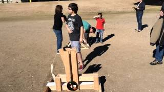 Trebuchet Launch