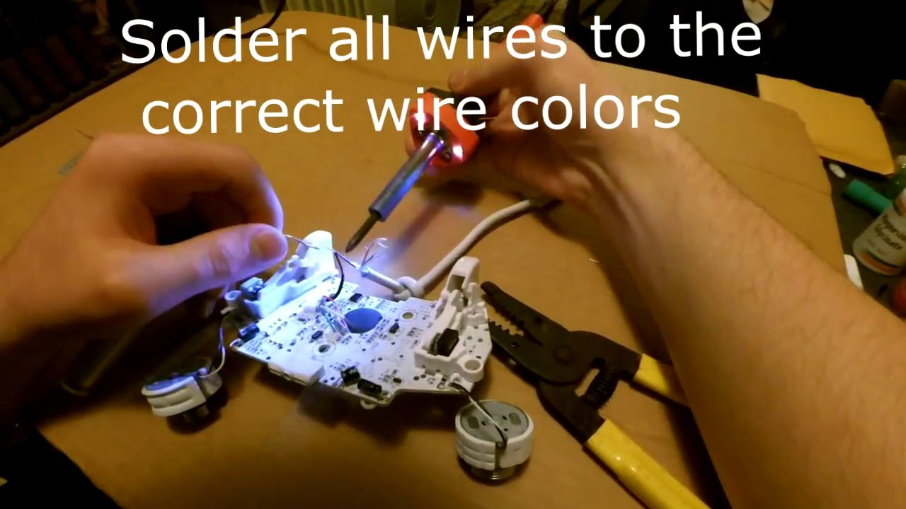how to fix a xbox 360 wired remote [ 1280 x 720 Pixel ]