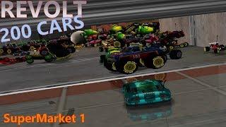 Re-volt - 200 Cars race ! - Supermarket 1