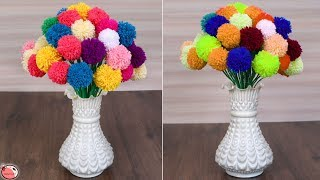 Amazing !! DIY Flower Pot Making at Home || DIY Room Decor 2018