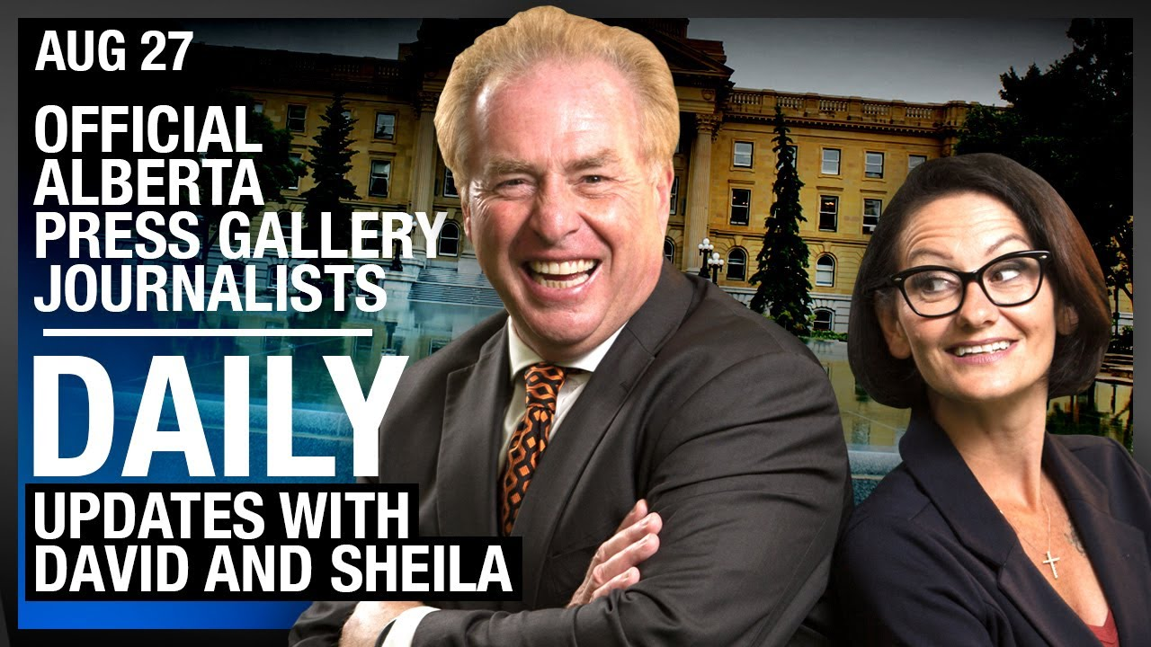 DAILY | Rebel News, Official Alberta Press Gallery Journalists! Victoria's Tent City