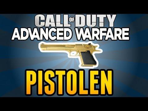 Call of Duty Advanced Warfare: ALLE PISTOLEN!   Analyse/Stats/Statistiken Waffen German/Deutsch
