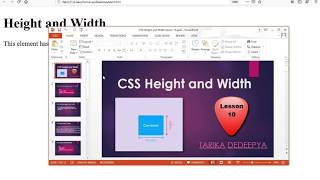 Css height and width 100% lesson :10(part-2)
