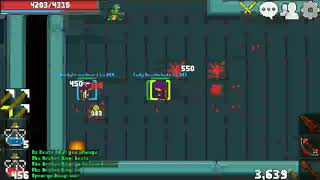 RucoyOnline in level 281. ( fail to found raiderknight to troll and also playing with my girl gamer)