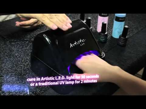 Artistic colour gloss new led smart gel youtube artistic colour gloss new led smart gel prinsesfo Image collections