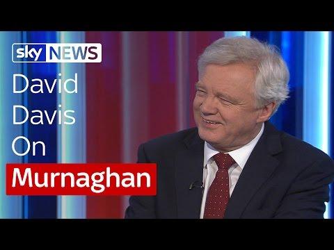 David Davis Talks EU Referendum