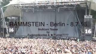 Rammstein,Berlin Waldbühne 2016 - M.C Teaser