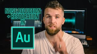 Noise Reduction and Restoration // Adobe Audition Tutorial