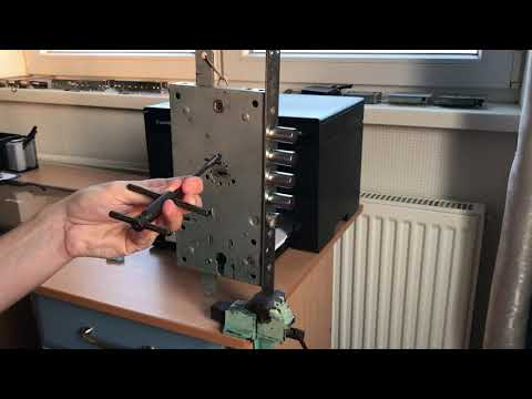 Взлом отмычками Securemme   Вскрытие замка Securemme 6+6 с помощью отмычки Хобса
