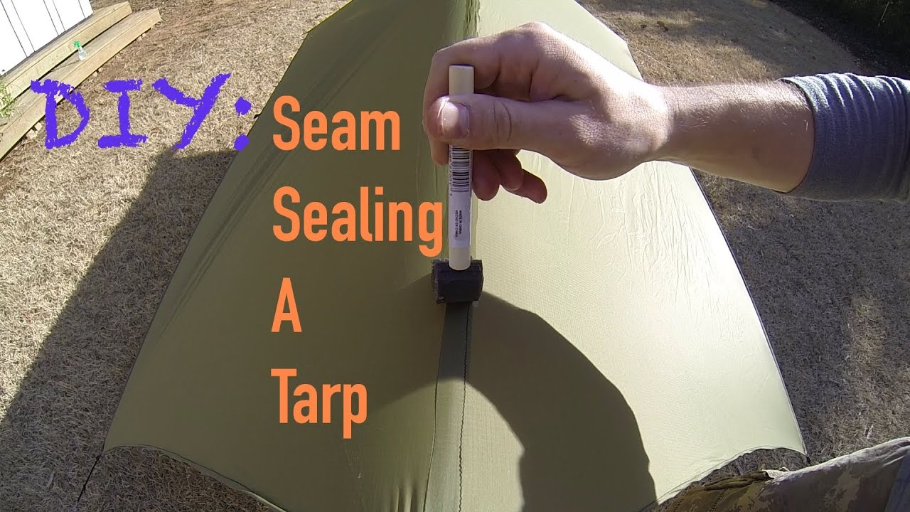 & DIY Gear Tips: Seam Sealing A Tarp - YouTube