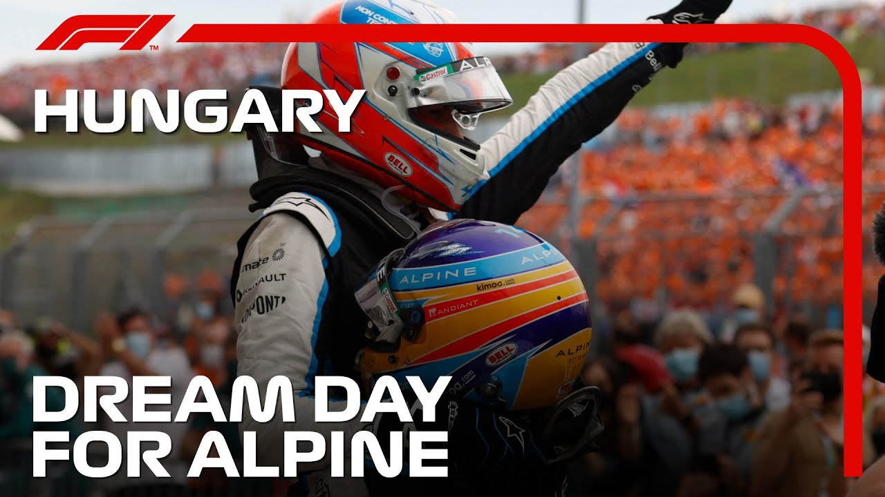 The Day Alpine F1 Team Ruled The World | 2021 Hungarian Grand Prix