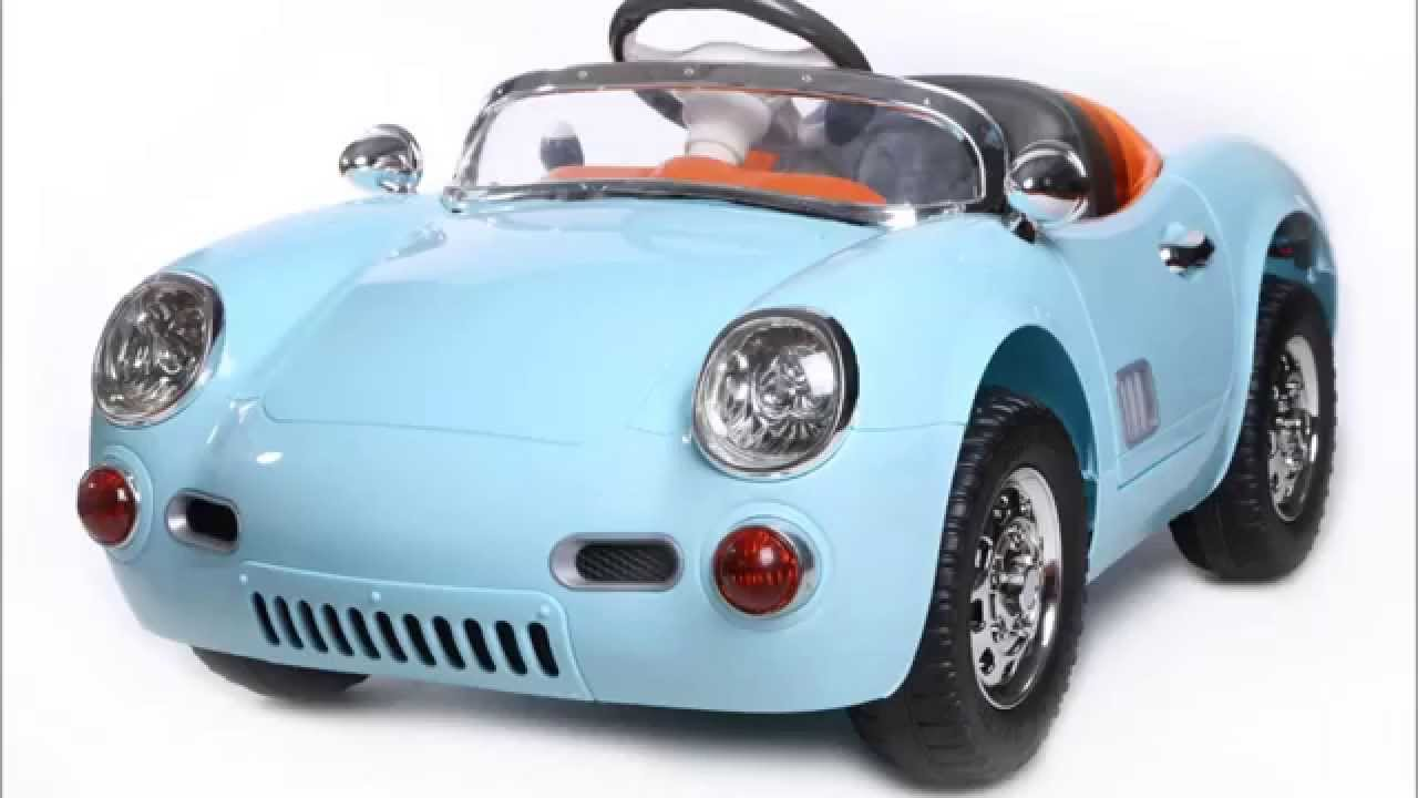 voiture enfant electrique chesil retro 12volts replique porsche 356 youtube. Black Bedroom Furniture Sets. Home Design Ideas
