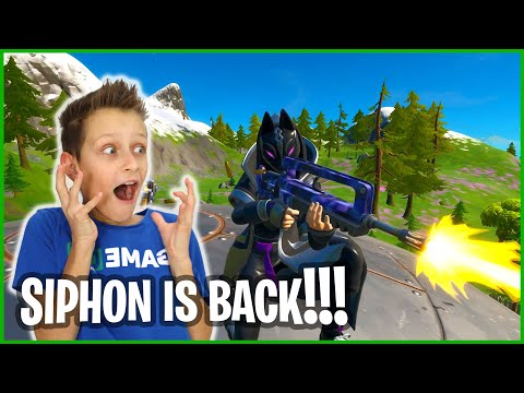 SIPHON IS BACK IN FORTNITE!!!