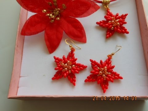 Diy Tutorial It Fiore Stella Di Natale Youtube