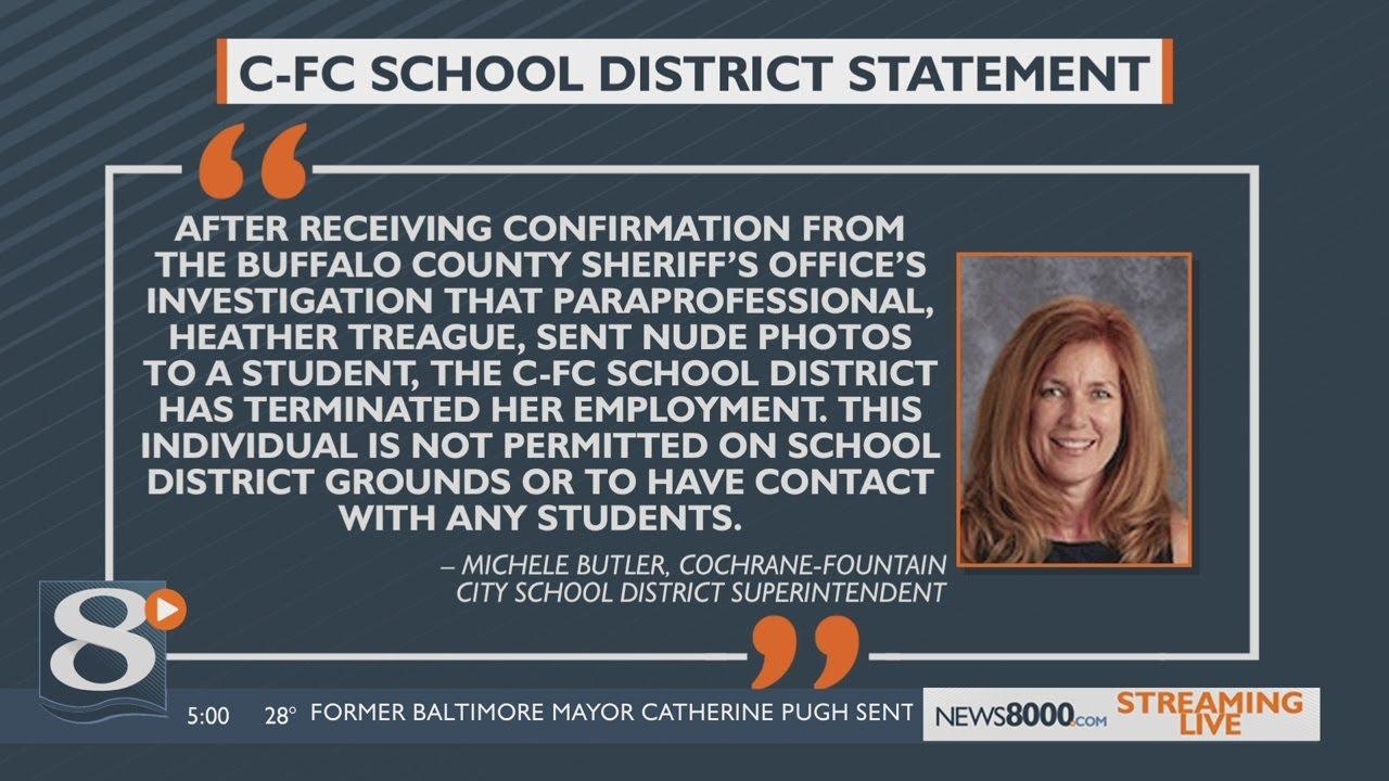 Cochrane-Fountain City School District terminates employee