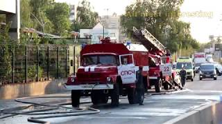 RUSSIAN Fire Truck Responding Compilation (№3)