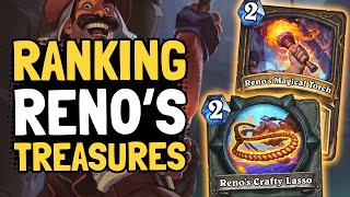 Ranking Reno's TREASURES & HERO POWERS in Tombs of Terror   Hearthstone