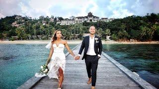 The Wedding of Vanessa & Tayfun at InterContinental Samui Baan Taling Ngam Resort, Thailand
