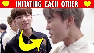 BTS Imitating Each Other | Bangtan Boys