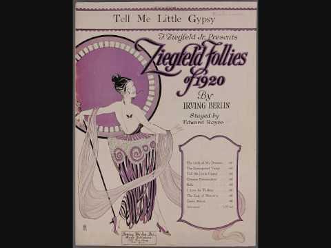 John Steel - Tell Me Little Gypsy (1920)