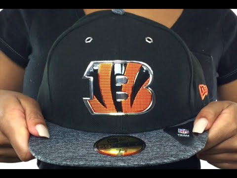 Bengals  2016 NFL DRAFT  Fitted Hat by New Era - YouTube 5dd1abc5a00