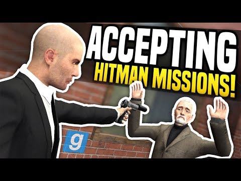 ACCEPTING HITMAN MISSIONS - Gmod DarkRP | Hitman Roleplay!