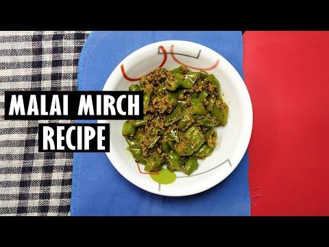 Malai Mirch Recipe Rich Spicy Milk And Green Chili Recipe