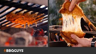 Double Grilled Cheese Sandwich with Chimichurri Dip Recipe on Ñuke Delta Gaucho Grill  BBQGuys