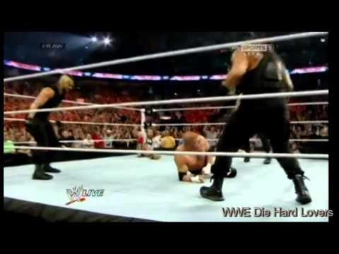 Triple H vs Daniel Bryan world heavyweight championship Raw 7/4/2014 Part 3