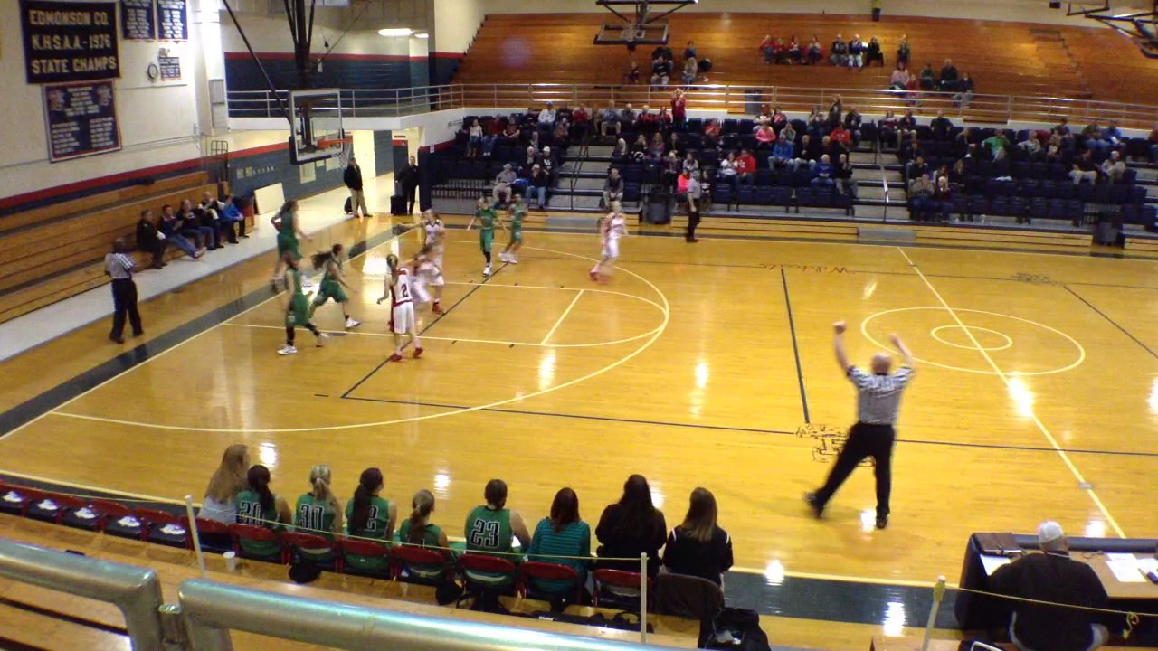 edmonson county high school - lady cat basketball vs. ballard