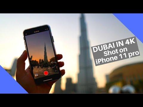Dubai In 4K    Shot On IPhone 11 Pro Max