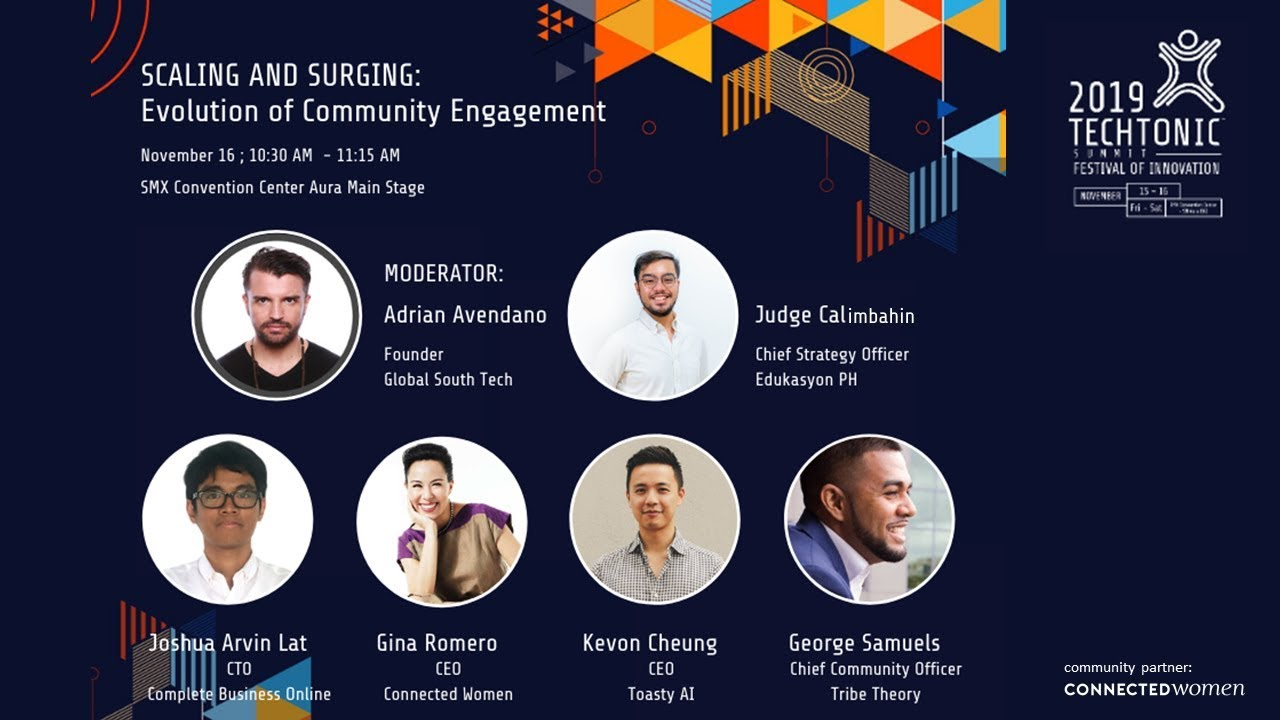 #TechTonicSummit2019 - SCALING AND SURGING: Evolution of Community Engagement