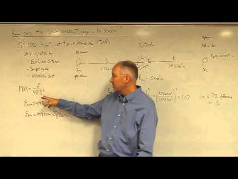 Lecture29 Solar Constant