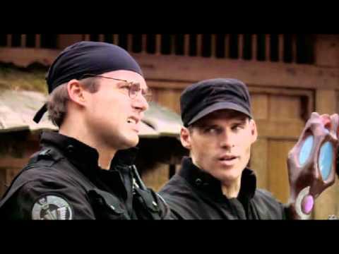 SG1 - Daniel Jackson and Cameron Mitchell interrogating an Ori prior