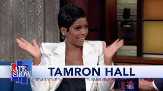 Tamron Hall: I Had Four Days Of Pure Anxiety Prepping For Oprah Interview