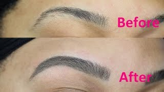 BOMB A** BROWS!! Super Easy DIY Brow Tinting