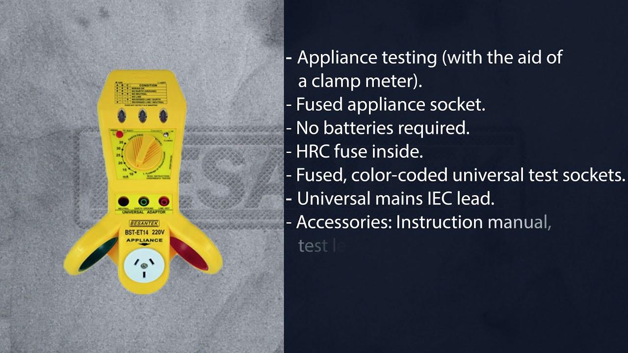 Circuit Breaker or Faulty Circuit Detects Fuse Besantek BST-CBF01 ...