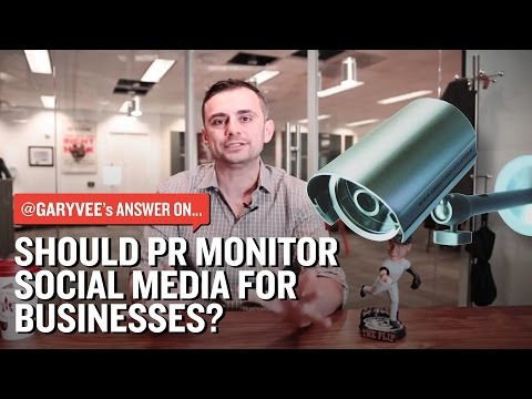 Public Relations Monitoring Social for Businesses