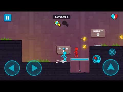 Red And Blue Stickman - Game Trailer