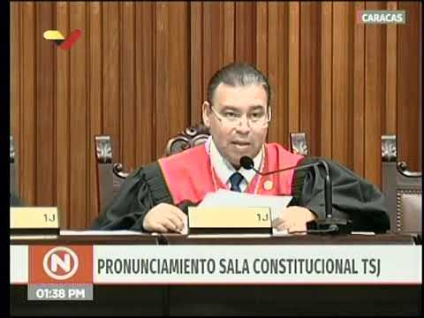"Sala Constitucional TSJ declara ilegal el ""Estatuto de transición"" de la Asamblea Nacional"