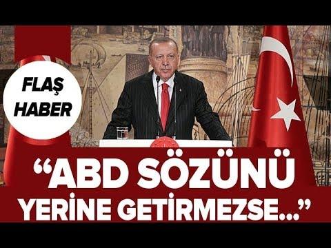 Son Dakika: Başkan Erdoğan'dan Trump'a Flaş
